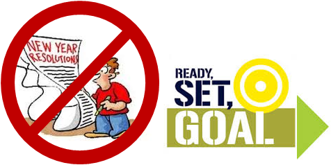Set Goals NOT Resolutions