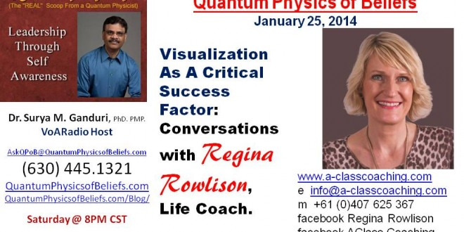 20140125 Visualization with Regina Rowlison