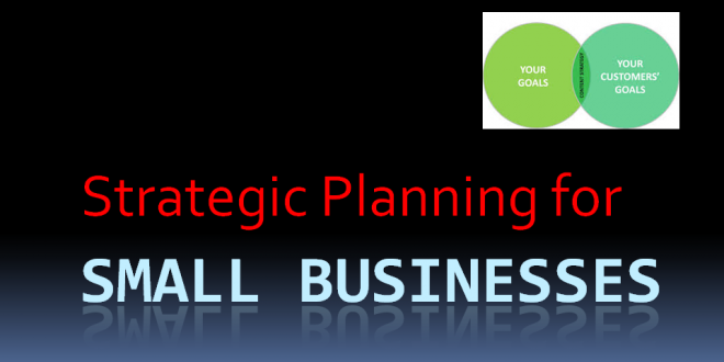 Why Strategic Planning Is Important Even For Small Businesses