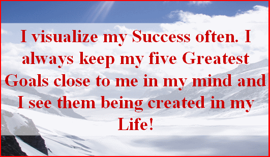 VisualizeMySuccess