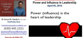 20140405 Sphere of Power and Influence in Leadership