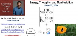 20140607 Energy, Thoughts, and Manifestation – Quantum Physics of Beliefs