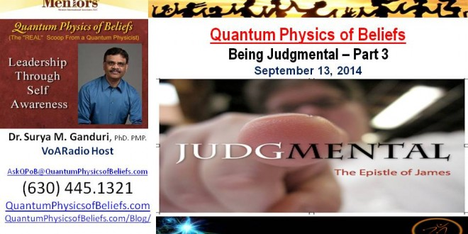 Seeing Good in Everyone – Quantum Physics of Beliefs