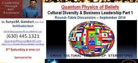 20140920 Cultural Diversity – Part 1 – Quantum Physics of Beliefs