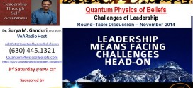 20141115 Challenges of Leadership – Quantum Physics of Beliefs