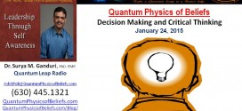 20150124 Decision Making and Critical Thinking – Quantum Physics of Beliefs