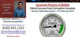 20150321 Round Table on Ethical Lessons – Quantum Physics of Beliefs